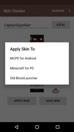 Skin Stealer For Minecraft Download APK For Android Aptoide - Minecraft skin stealer name mc