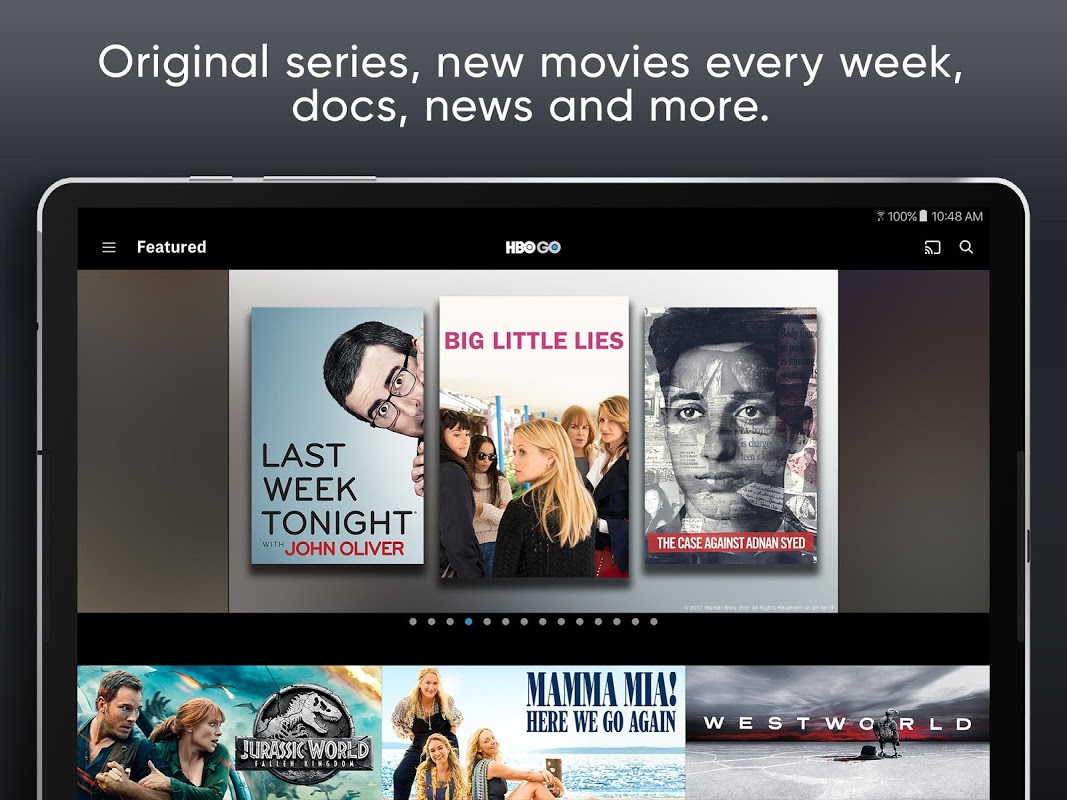 HBO GO: Stream with TV Package screenshot 2