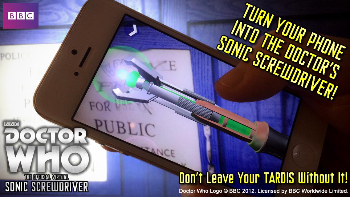 Doctor Who: Sonic Screwdriver screenshot 1