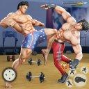 virtuel Gym Fighting: Réel culturistes Lutte