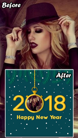 New Year Photo Frame, Effects Editor with Dp Maker 1.0.2 Download ...