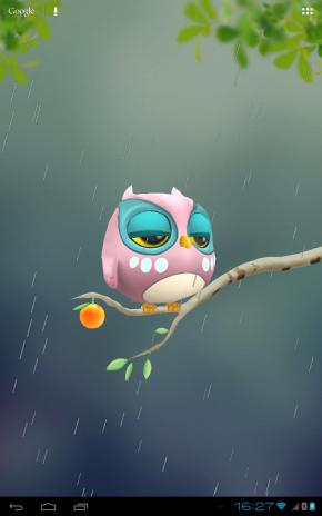 ... owl 3d wallpaper screenshot 7
