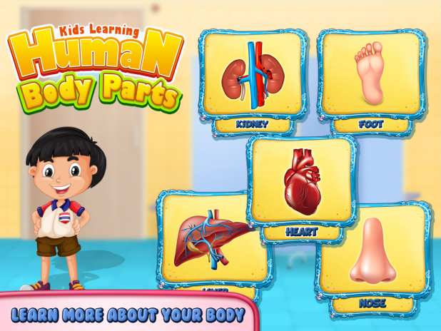 Kids human body parts learning game 100 baixar apk para android kids human body parts learning game captura de tela 2 ccuart Gallery