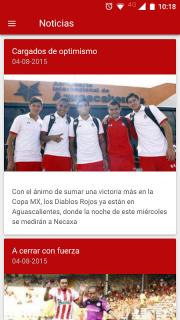 Deportivo Toluca FC screenshot 2