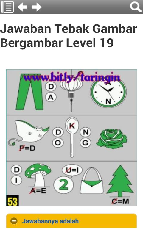 Kunci Jawaban Tebak Gambar Nomor 20 Gudang Kunci