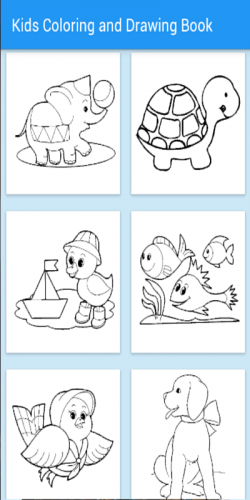 Coloring page Toca Life : Vacation 8 | 500x250