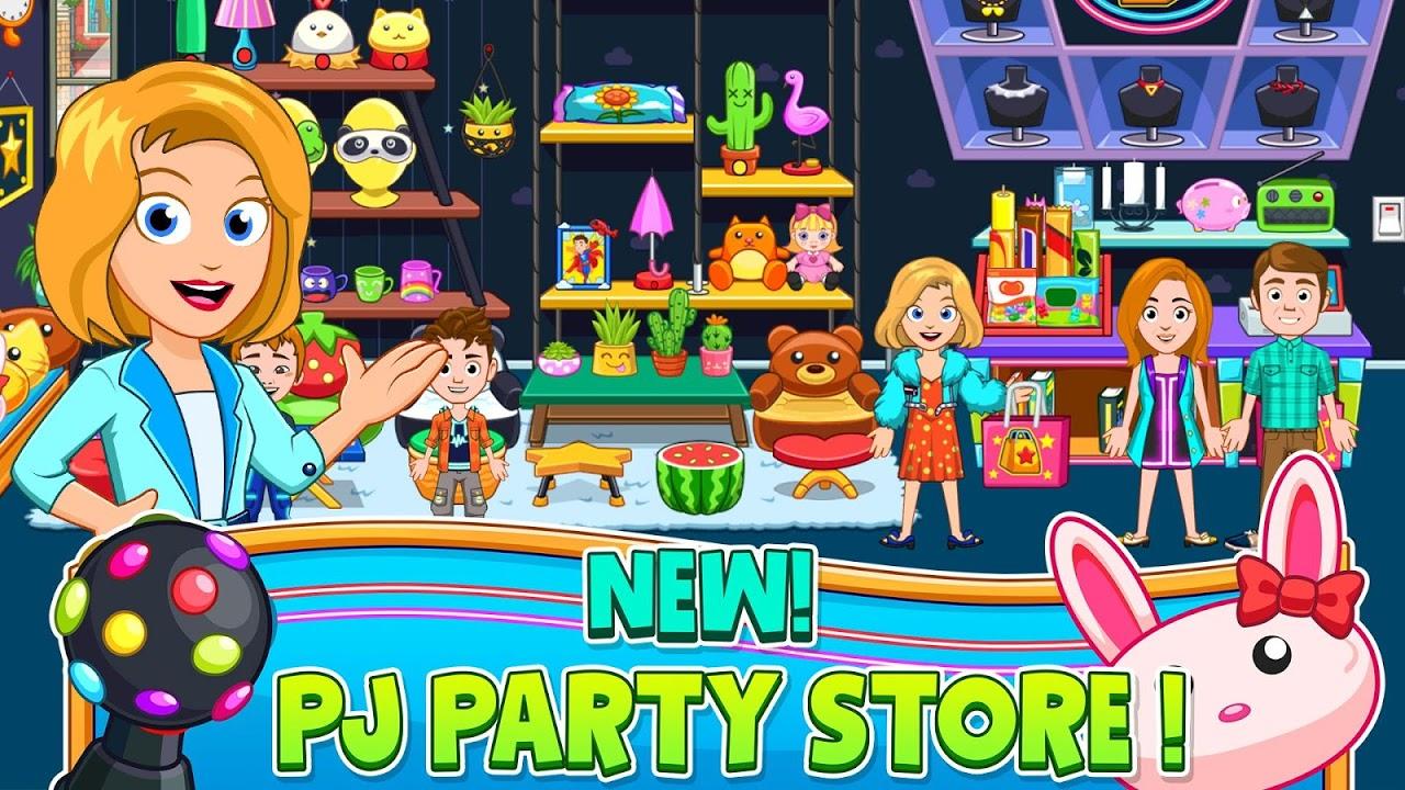 My City : Pajama Party screenshot 2