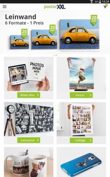 posterxxl foto produkte download apk for android aptoide. Black Bedroom Furniture Sets. Home Design Ideas