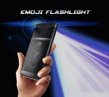 Emoji Flashlight - Brightest Flashlight 2018 screenshot 1