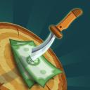 Dinheiro da faca