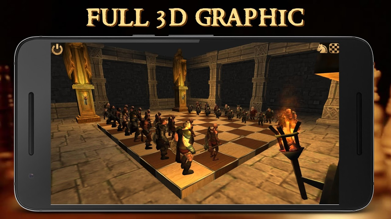 Battle Chess 3D screenshot 2