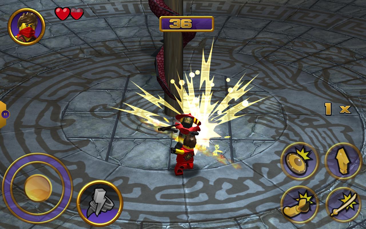 LEGO? Ninjago Tournament screenshot 2