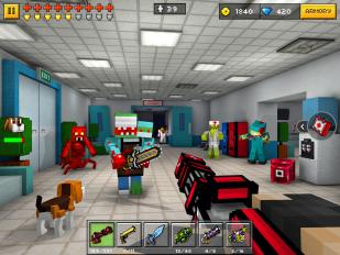 pixel gun 3d pocket edition screenshot 6