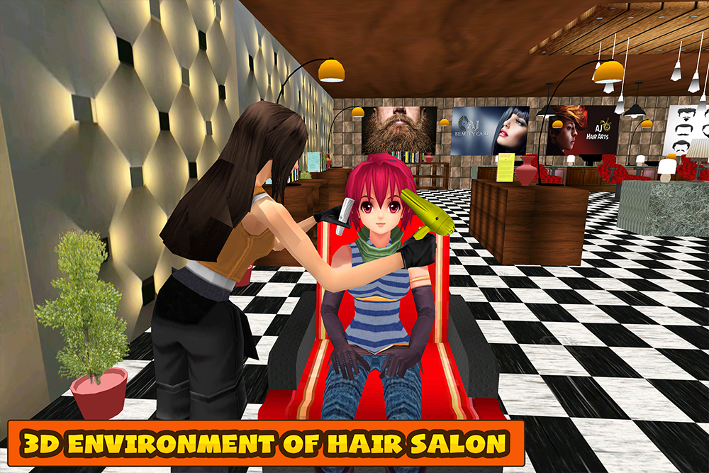 3d sound virtual barber shop