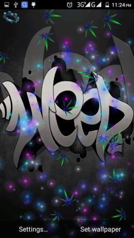 Weed Rasta Live Wallpaper 3