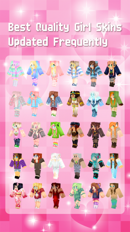 تحميل Apk لأندرويد آبتويد Girl Skins For Minecraft Pe49