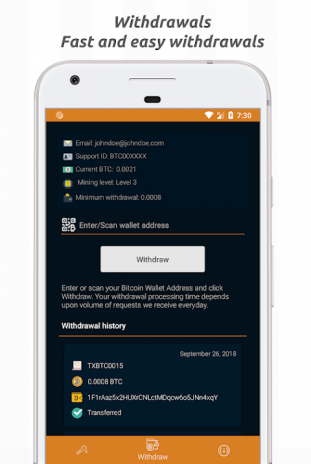 Bitcoin Cloud Miner - Get Free BTC 1 0 4 Download APK for Android