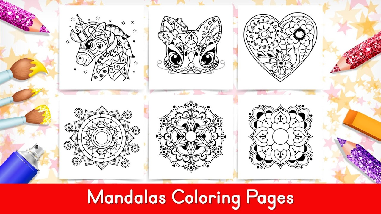 Coloring Games For Kids -Tashi 1.12c Download Android APK Aptoide