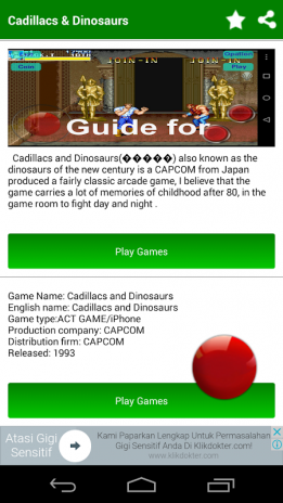 ▻Game for Cadillacs Dinosaurs 1 2 Download APK for Android