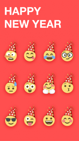 Happy New Year Emoji Sticker 1 0 2 Download APK for Android