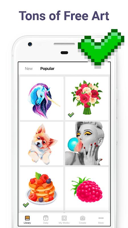 Pixel Art: Colour by Number screenshot 10