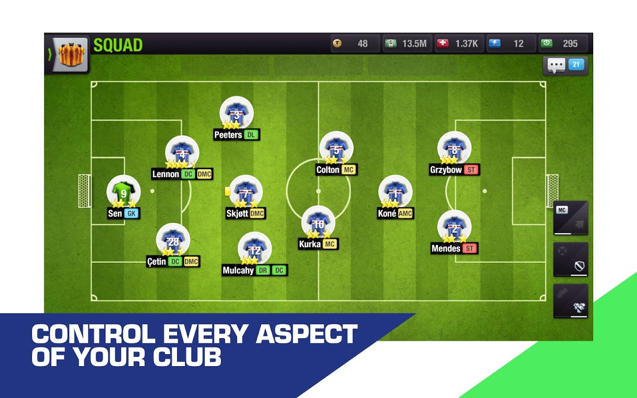 Top Eleven 2019 - Be a Football Manager screenshot 10