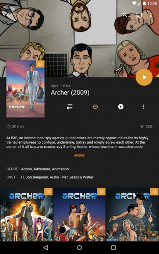 Plex: Stream Movies, Shows, Music, and other Media screenshot 11