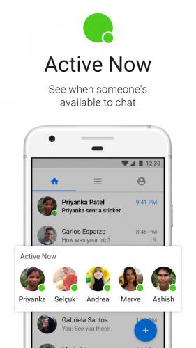 Messenger Lite: бесплатные звонки и сообщения screenshot 2