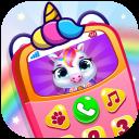 Baby Princess Phone: My Baby Unicorn Care For Kids