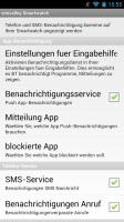 simvalley Smartwatch Screen