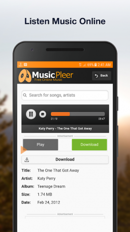 Musicpleer free online music app 10 baixar apk para android aptoide musicpleer free online music app captura de tela 3 stopboris Images