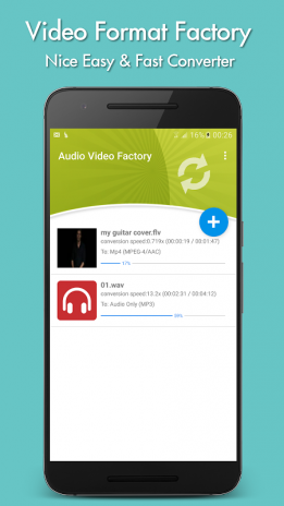 convertidor de audio y video apk