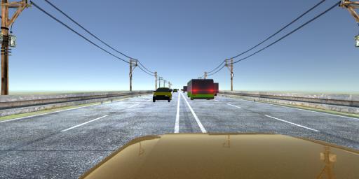 VR Racer - Highway Traffic 360 (Google Cardboard) screenshot 4
