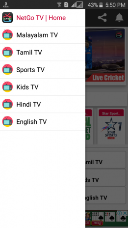 NetGo TV - Live TV | Sports | Movies | Music 8 0 Download