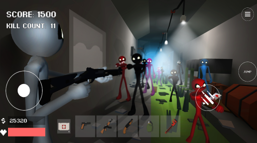 Stickman Combat Pixel Edition screenshot 2