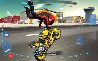 Stunt Bike Freestyle Screen