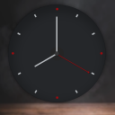 Lock Screen Analog Clock