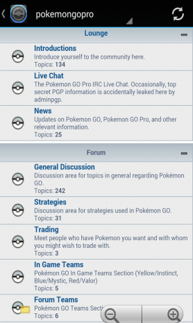 PokeGo Forums 1 0 Descargar APK para Android - Aptoide