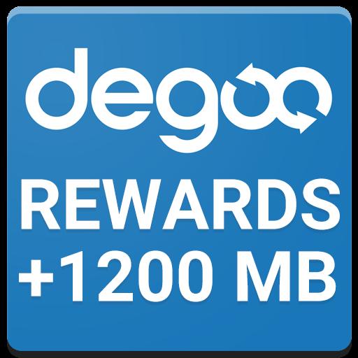 Degoo Lockscreen Cloud Storage Rewards