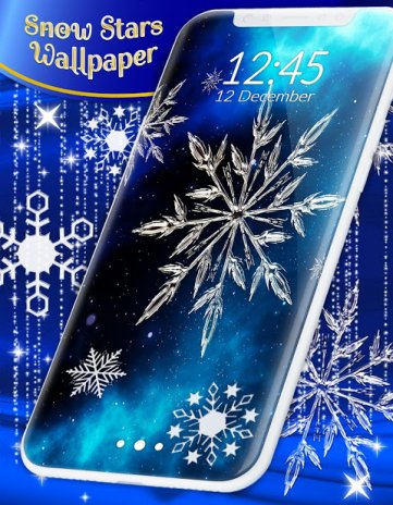 Snow Stars Free Wallpaper 410 Descargar Apk Para Android