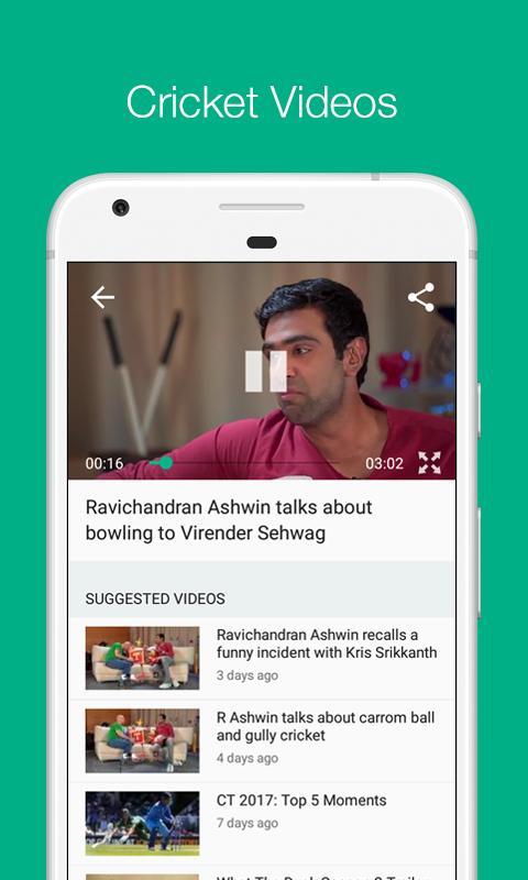 Cricbuzz - Live Cricket Scores & News screenshot 1