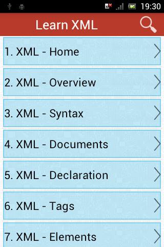 learn mxml