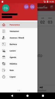 ClasseViva Studenti screenshot 2