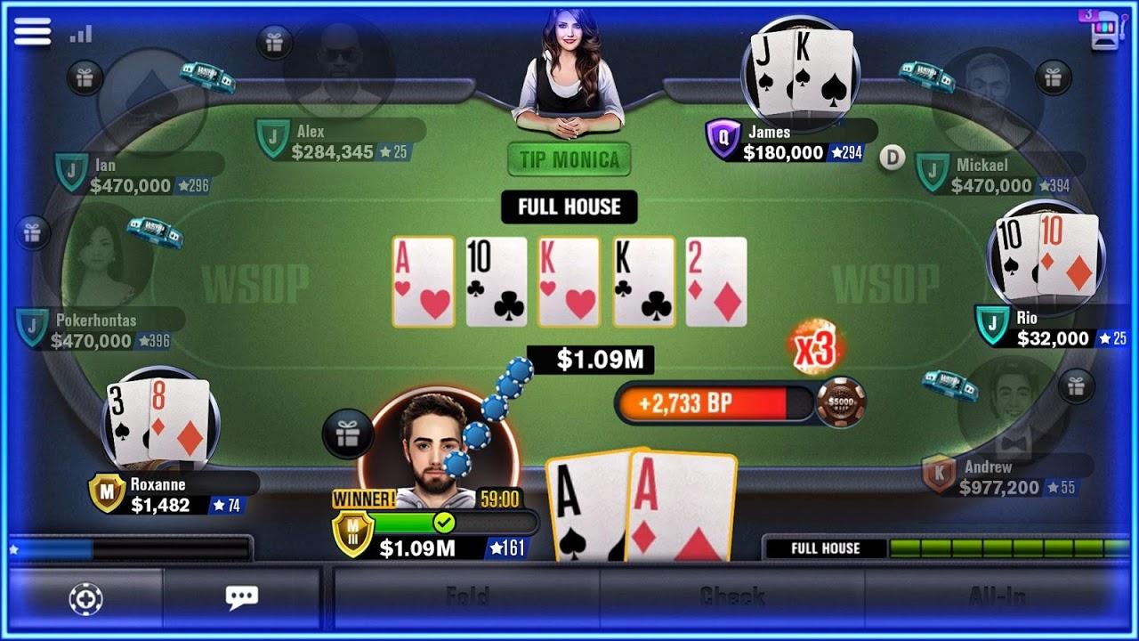 WSOP screenshot 3