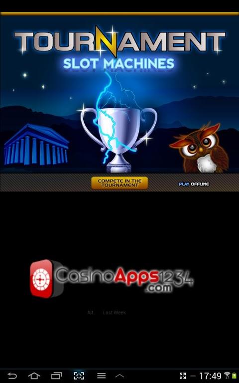 Tournament Slot Machines screenshot 1
