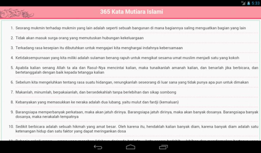 365 Kata Mutiara Islam 2 1 Download Android Apk Aptoide