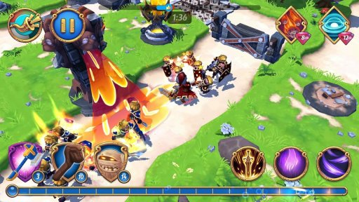 Royal Revolt 2: Tower Defense RPG and War Strategy screenshot 8