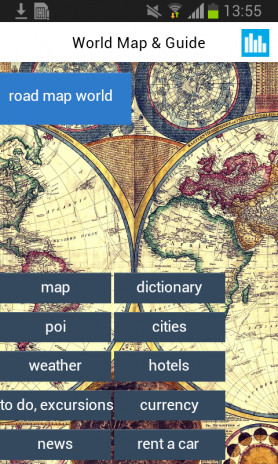 World offline map earth guide 50 download apk for android aptoide world offline map earth guide screenshot 1 gumiabroncs Choice Image