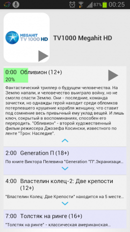 Torrent stream controller for ipad
