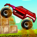 Monster Truck – rush the road and end the level